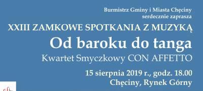 XXIII Zamkowe Spotkania z Muzyką!
